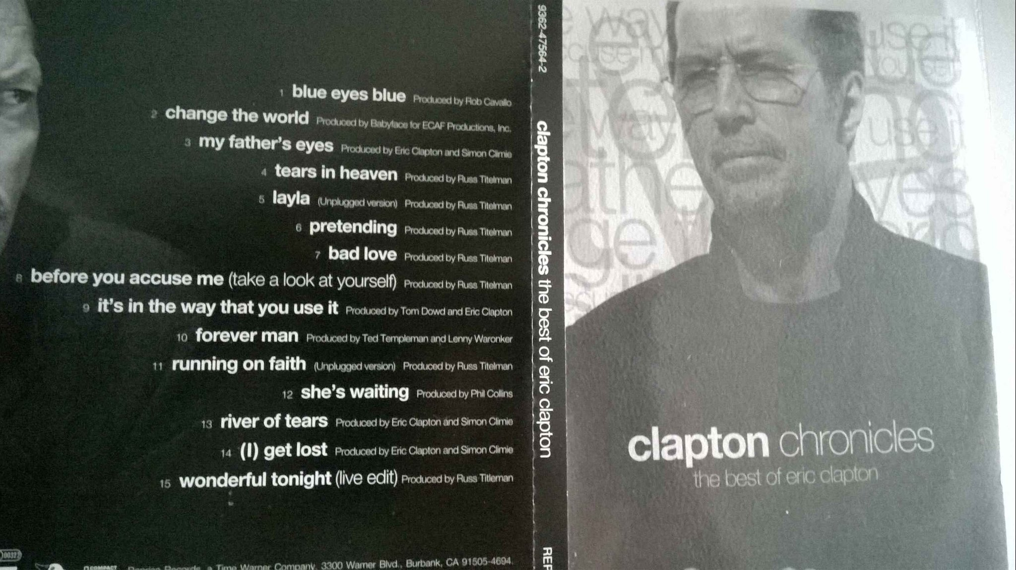 Clapton Chronicles (The Best Of Eric Clapton) CD, rare!