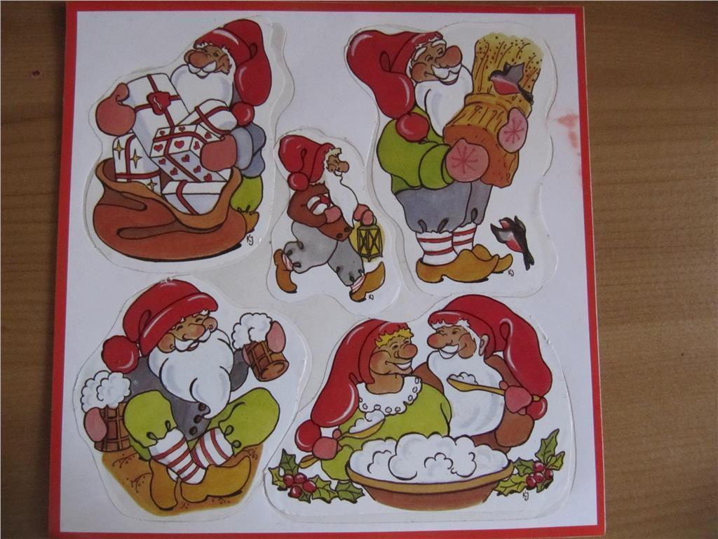 God jul tomte plast dekorationer kakel fönster fri frakt på ...