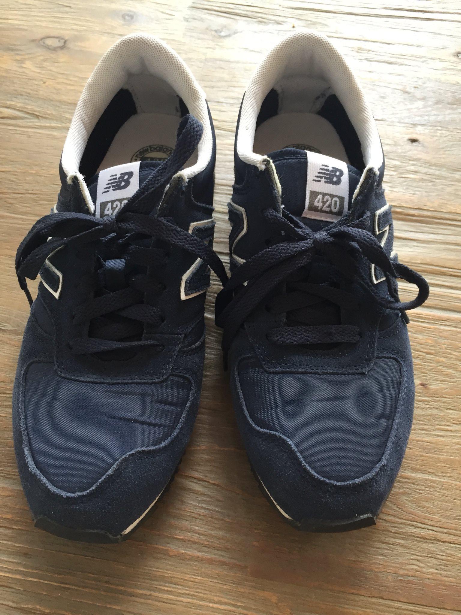 new balance skor storlek