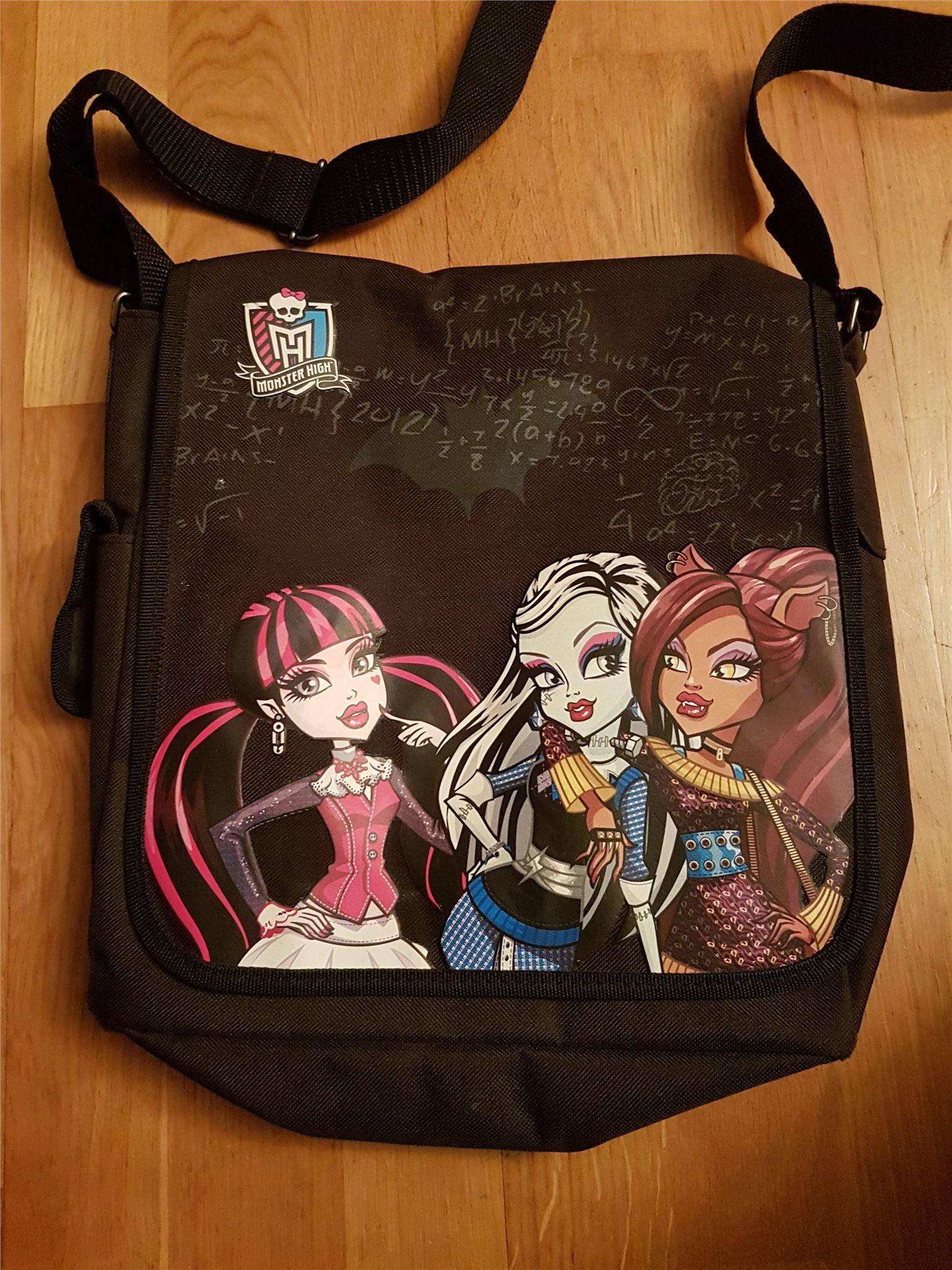 Väska - Monster High (332525225) ᐈ Köp på Tradera 129d4bcdd3c41