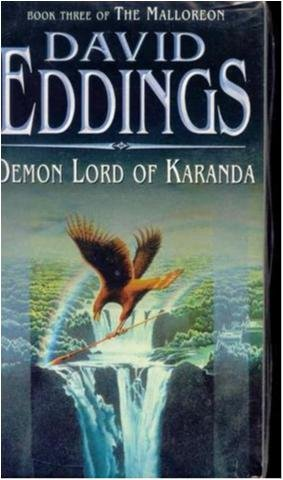 Demon lord of Karanda - D. Eddings -The Malloreon 3- Engelsk