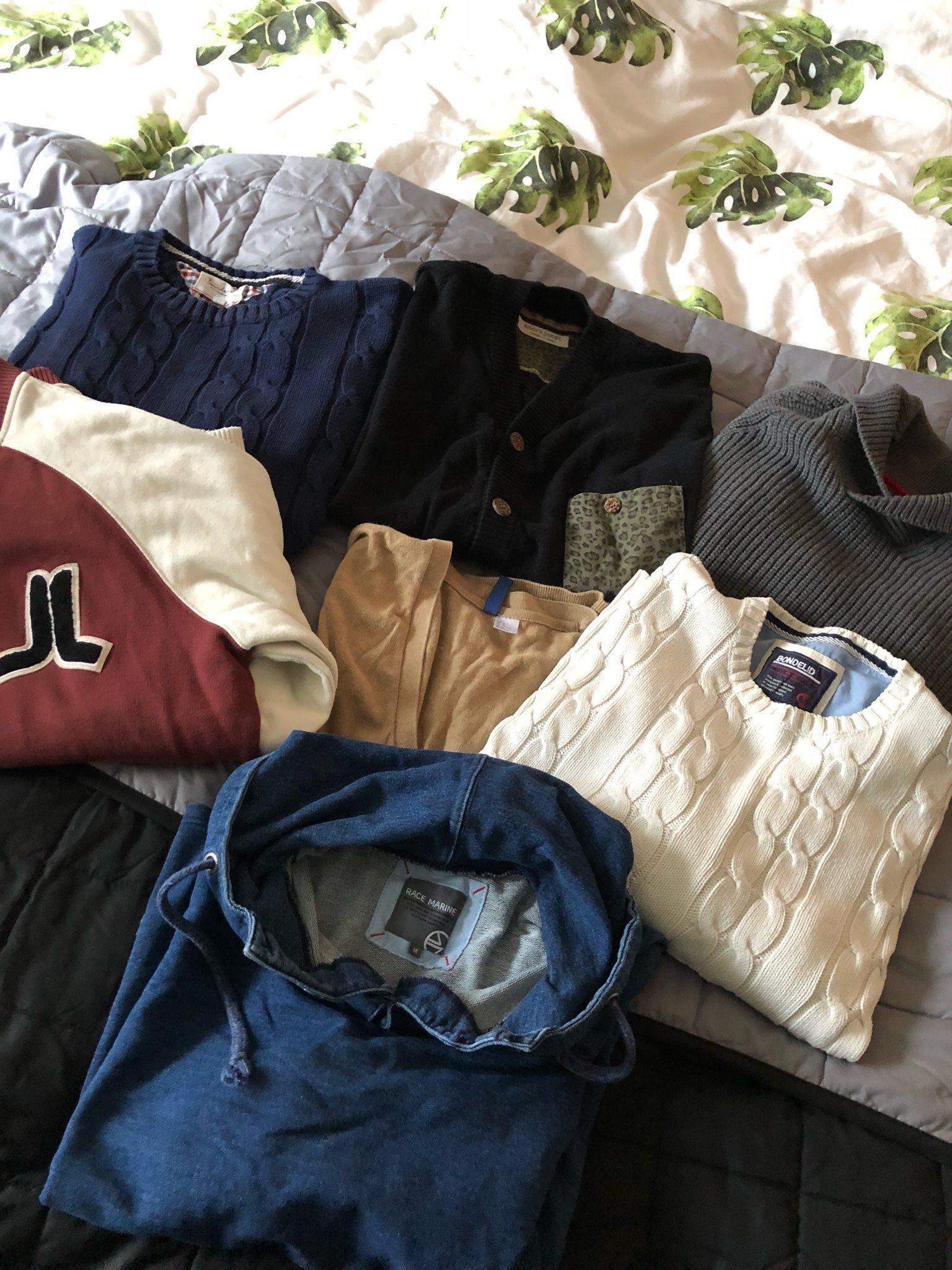 sweatshirts och herr cardigans på Huvtröjor 7 tröjor pwXORR