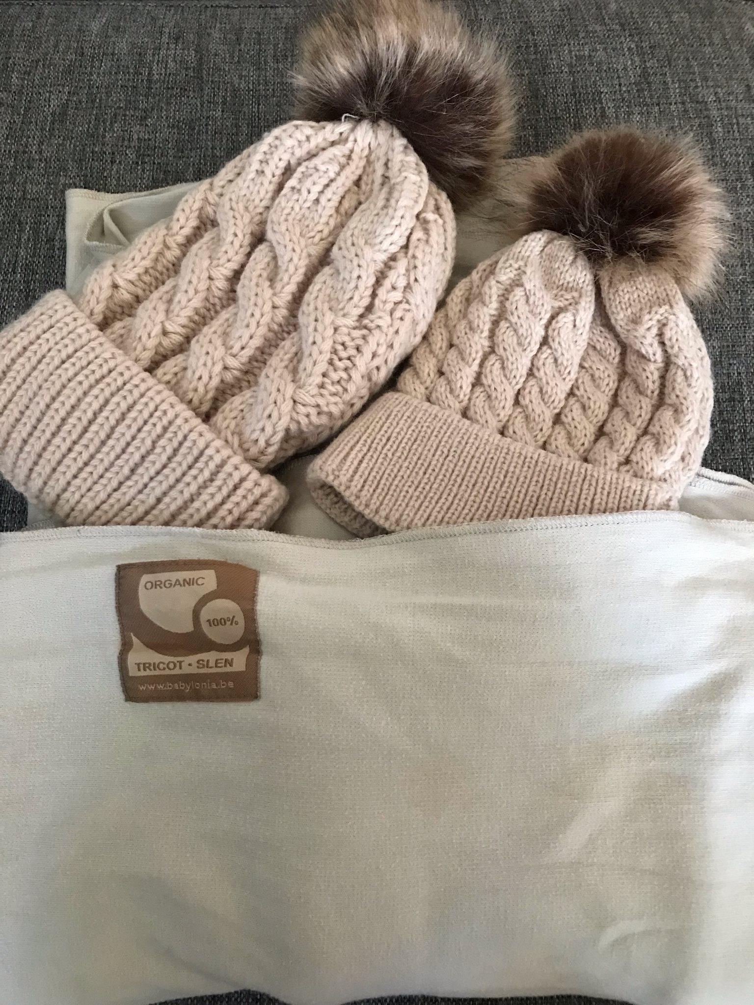 Tricot-Slen sjal & matchande mössor!