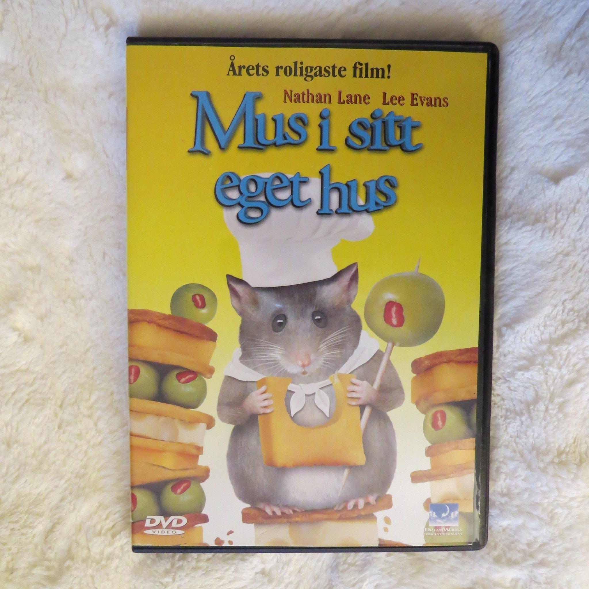 mus i eget hus dvd