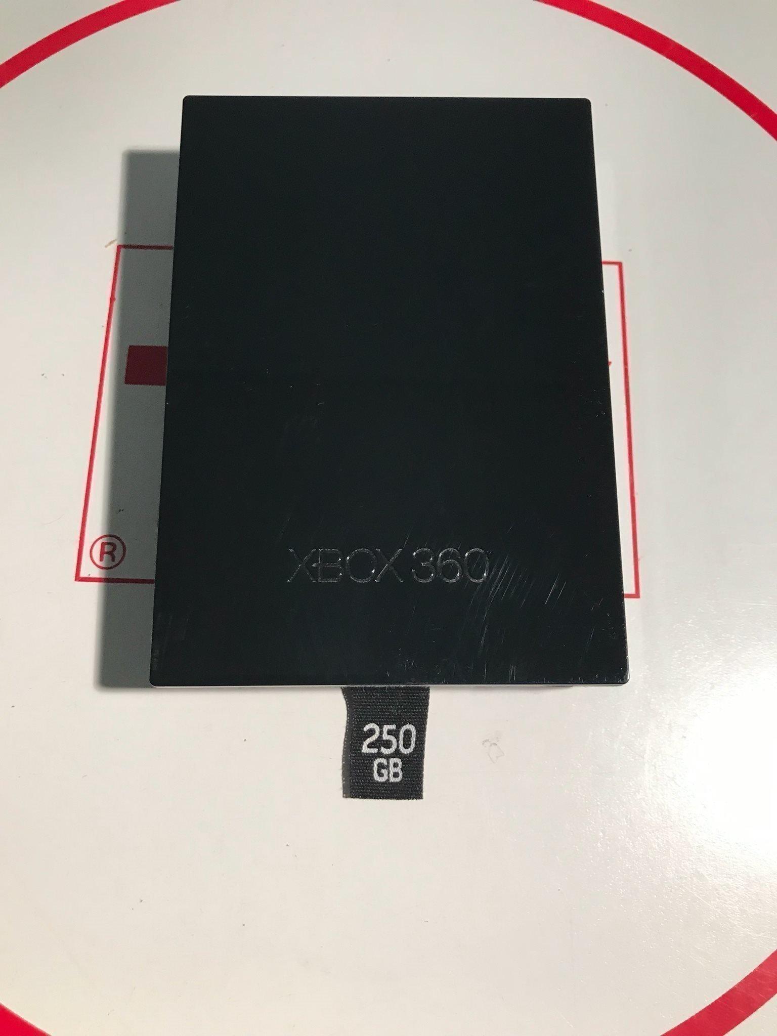250 Gb Harddisk Hdd Xbox 360 Slim Elite Origi 376967738 ᐈ
