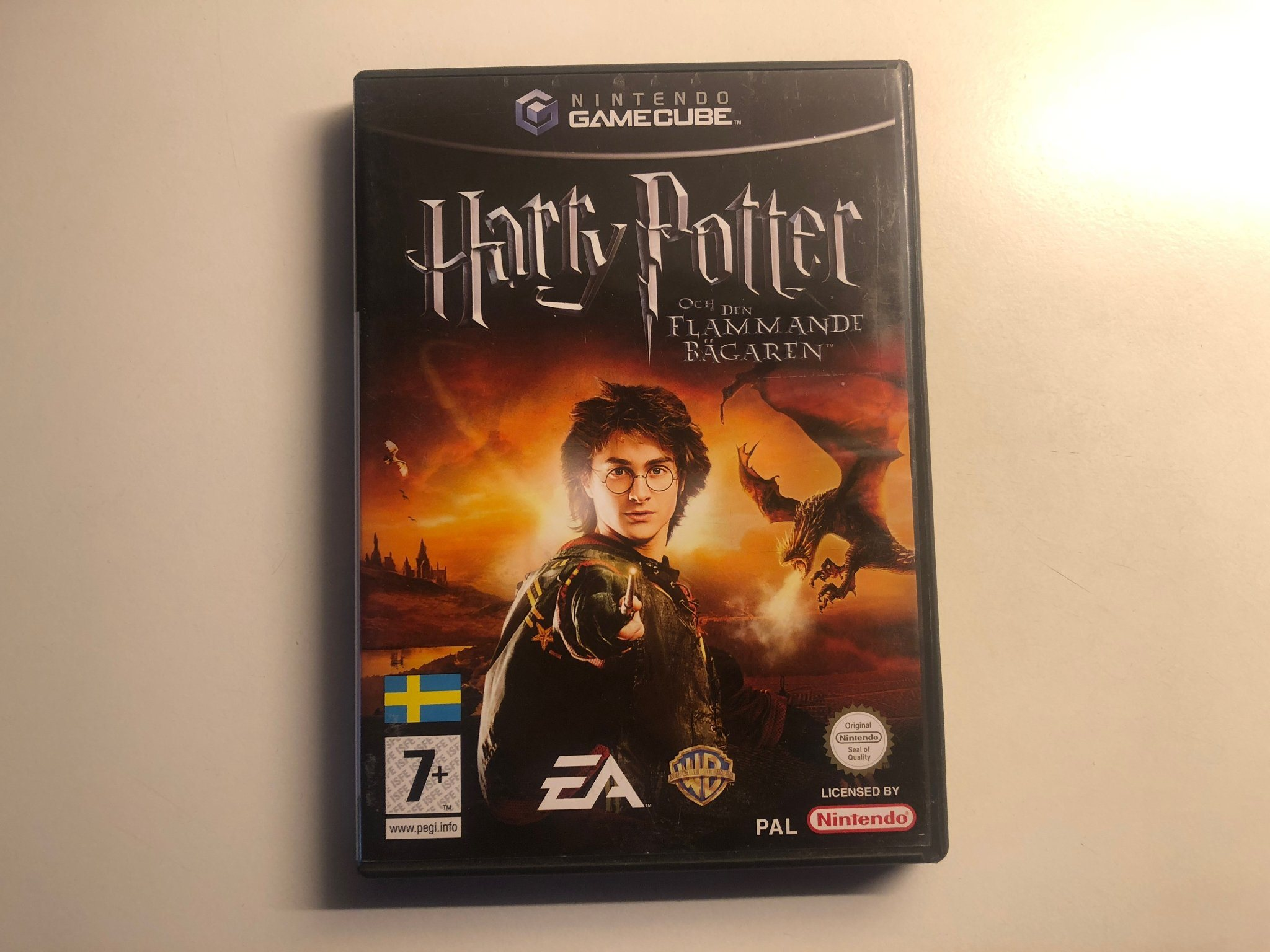 Harry Potter och den flammande b-garen