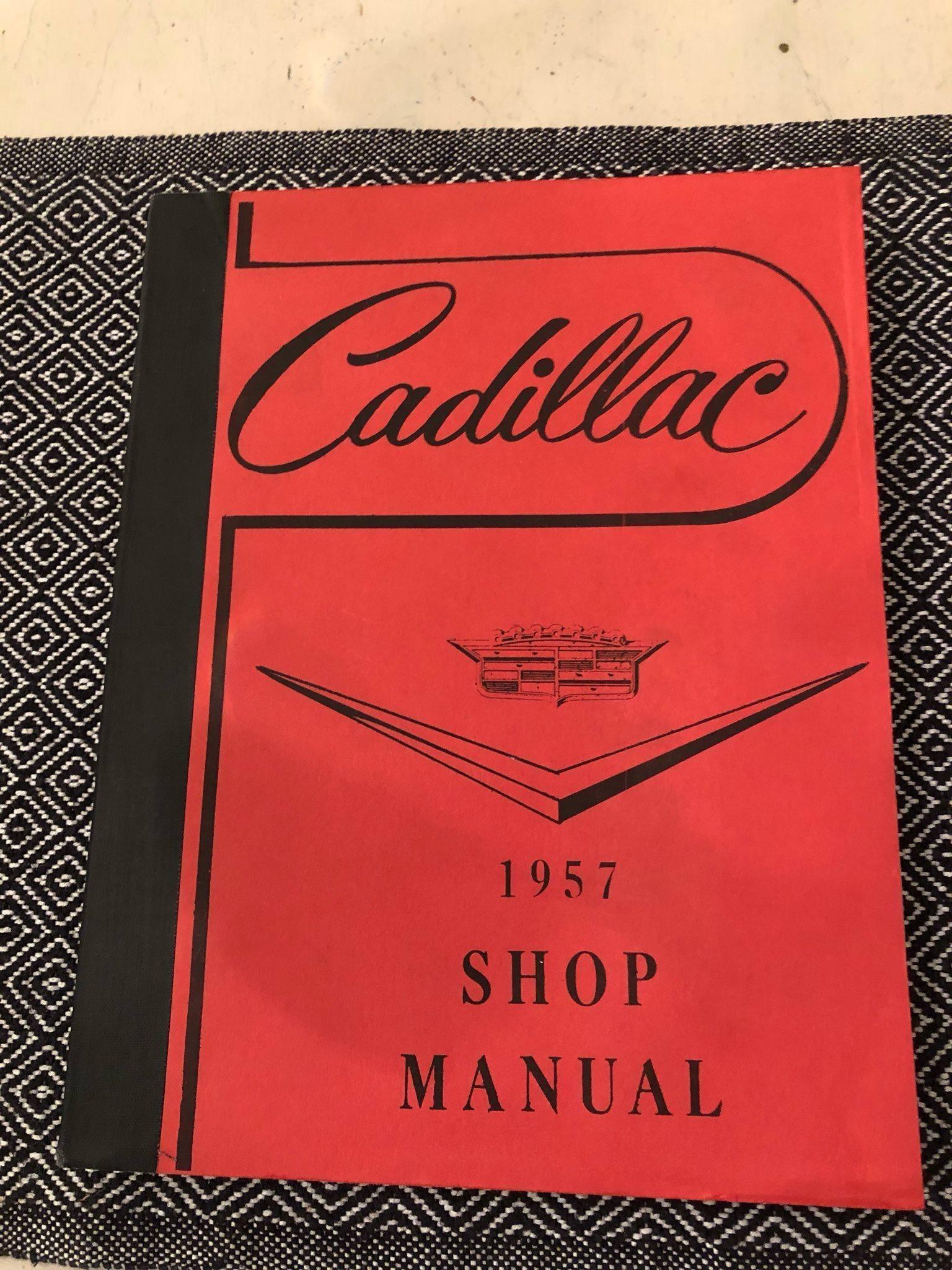 Cadillac 1957 Shop  Manual