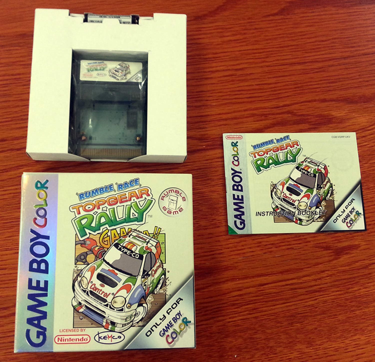 TopGear Rally - Rumble Edition (Fint skick) - Gameboy Color