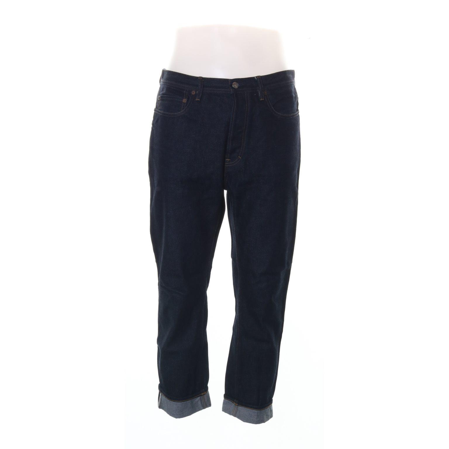 Acne Studios Blå Konst, Jeans, Strl: 29/32, Mörkblå