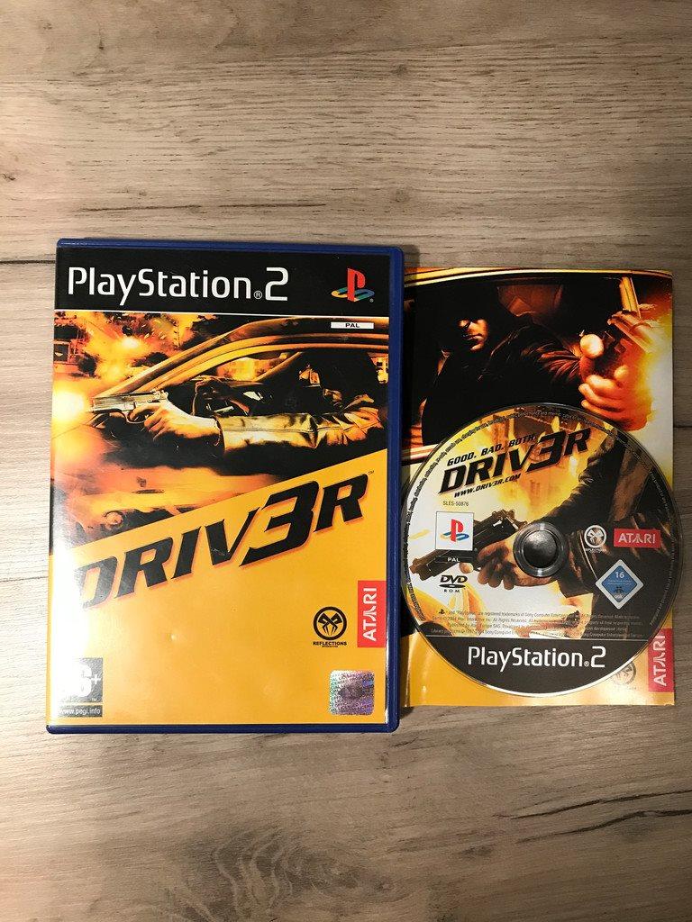 Driver 3 Driv3er PS2 Playstation 2 (338405059) ᐈ