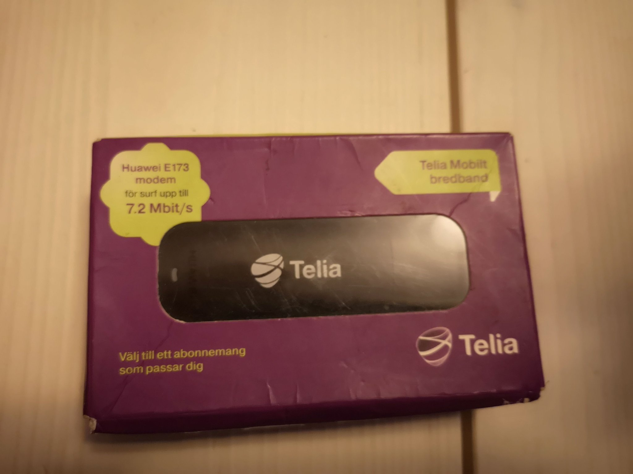 mobilt bredband usb sticka