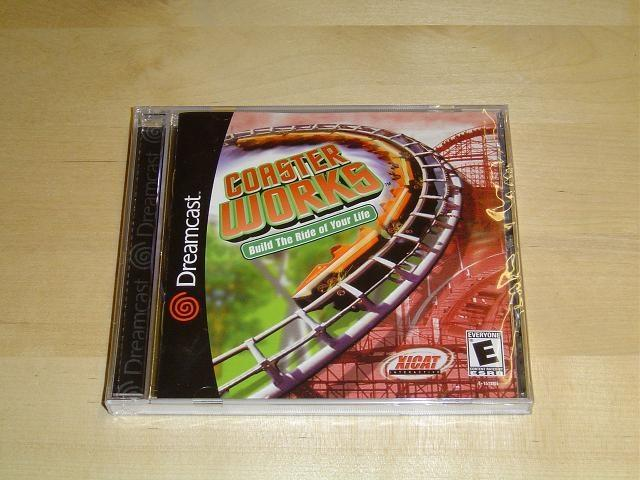 COASTER WORKS TILL SEGA DREAMCAST *SEALED*