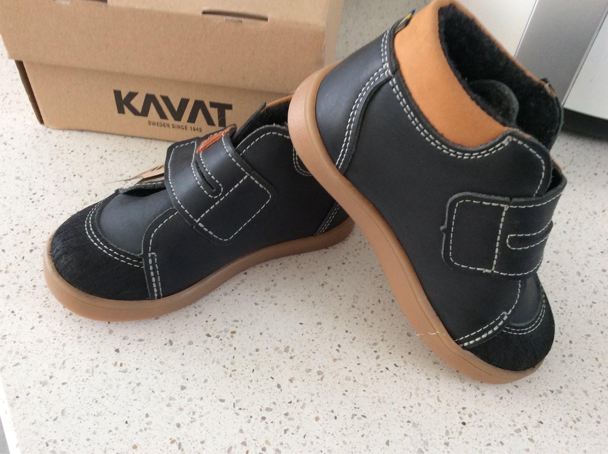 16bf20425d2 Nya skor, strl 24, Kavat Fiskeby XC , svarta (340482446) ᐈ Köp på ...