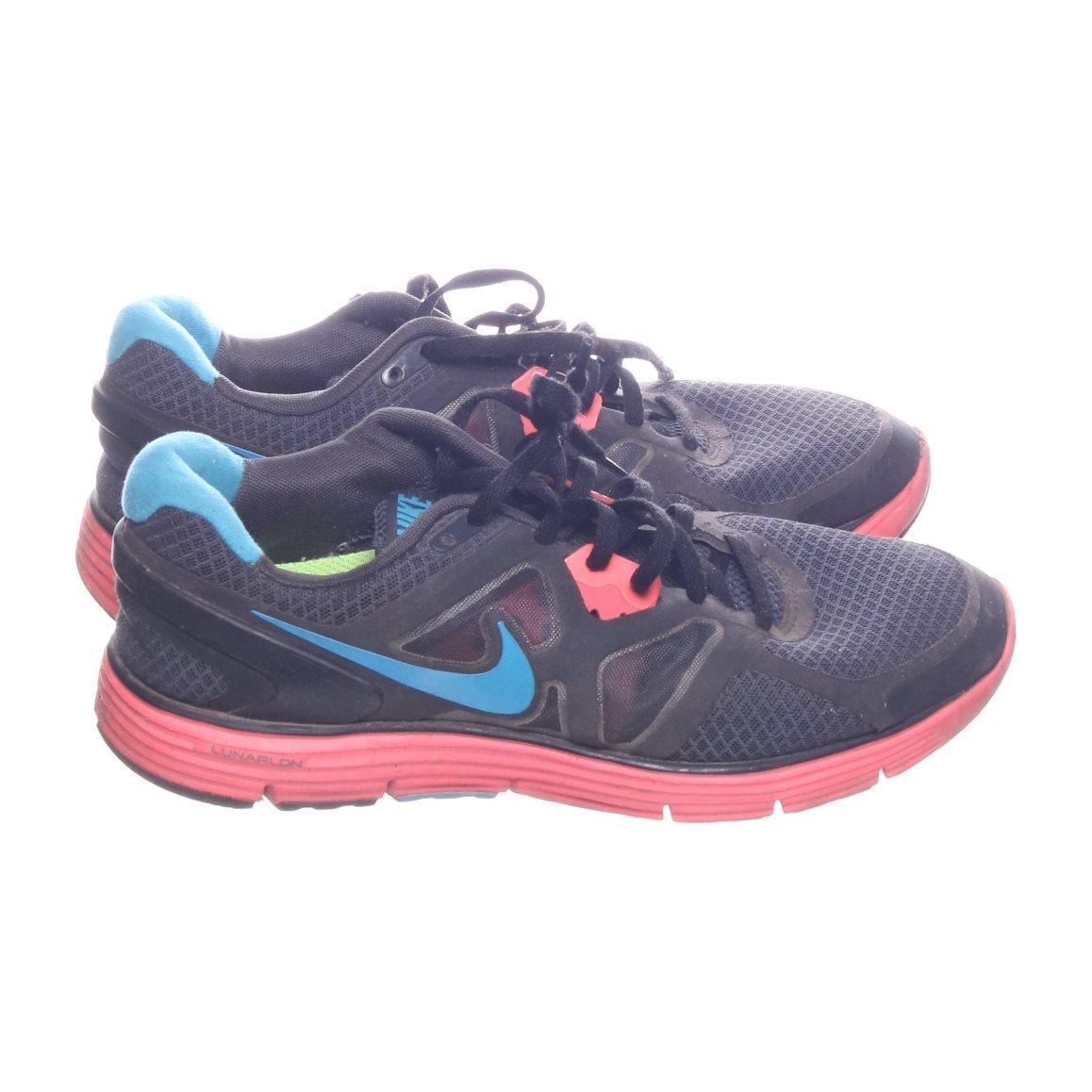 innovative design 40a51 a86d4 Nike, Träningsskor, Strl  40.5, LUNARGLIDE 3, Svart Flerfärgad