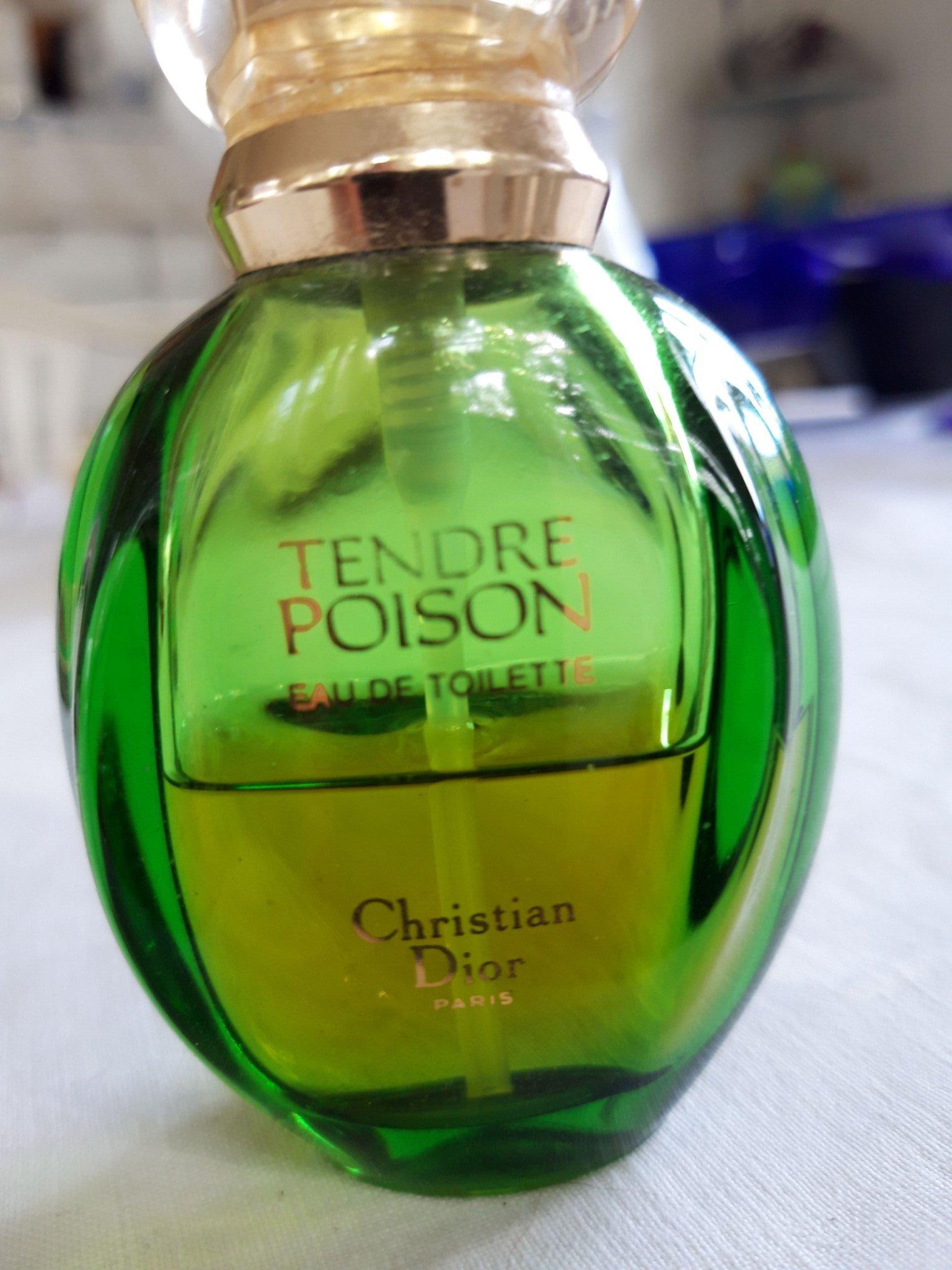 Parfym  Tender poison  Christian Dior  Vintage    (356801904