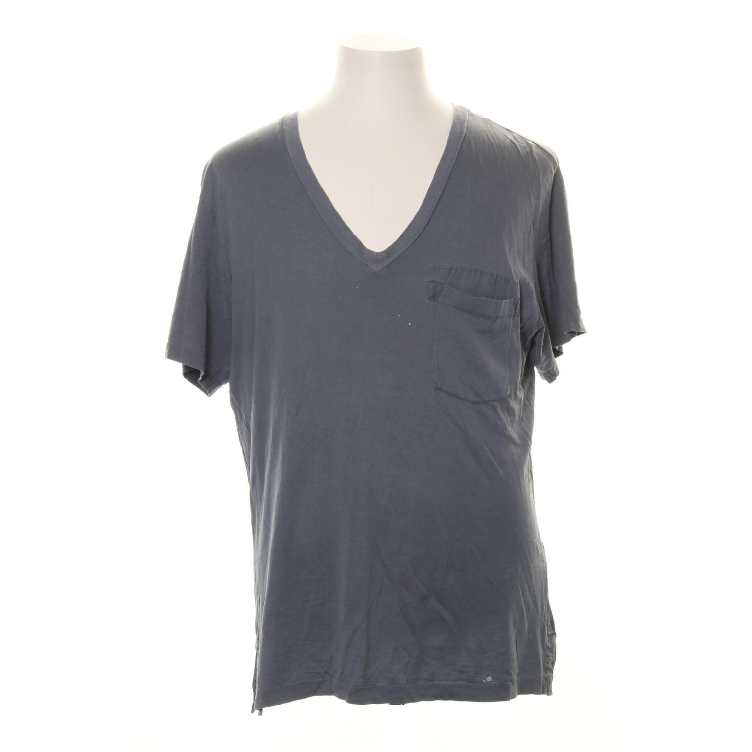 Acne Studios, T-shirt, Strl: S, Cotton V, Blå