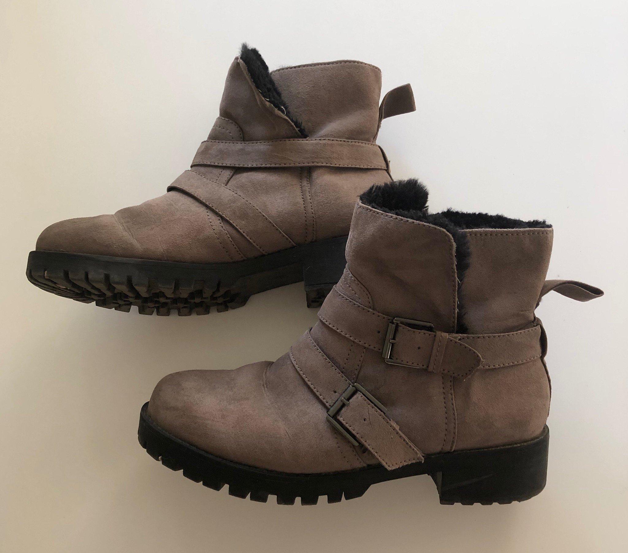 Fodrade stövlar 37 H&M boots varmfodrade skor