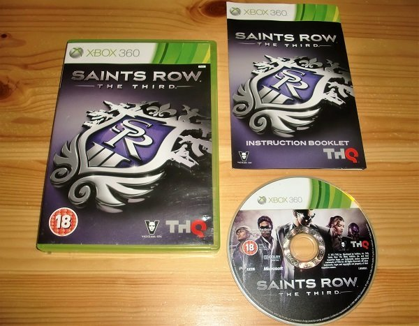 Xbox 360: Saints Row the Third