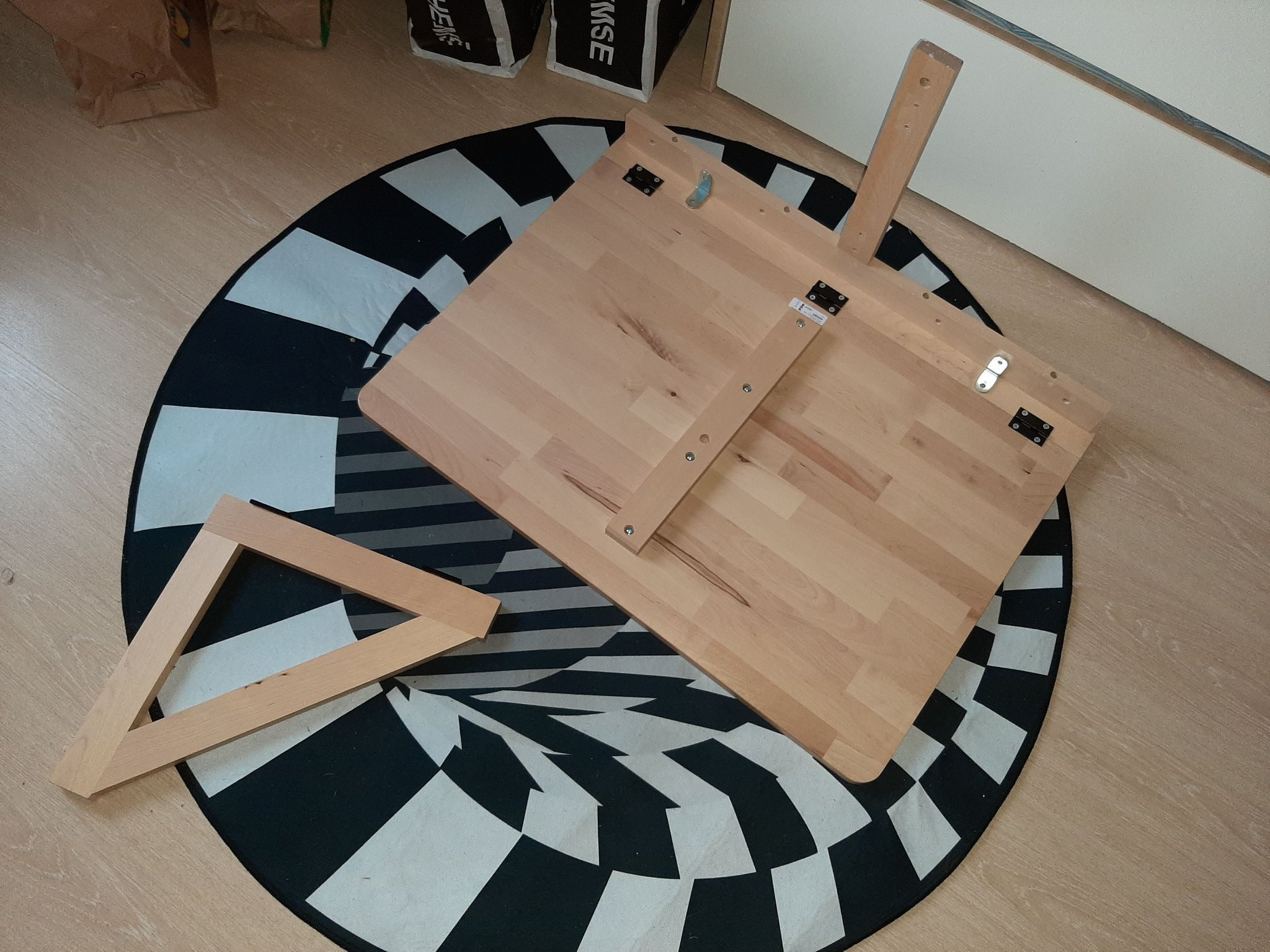 Picture of: Bord Vagghangt Ikea 428461758 ᐈ Kop Pa Tradera