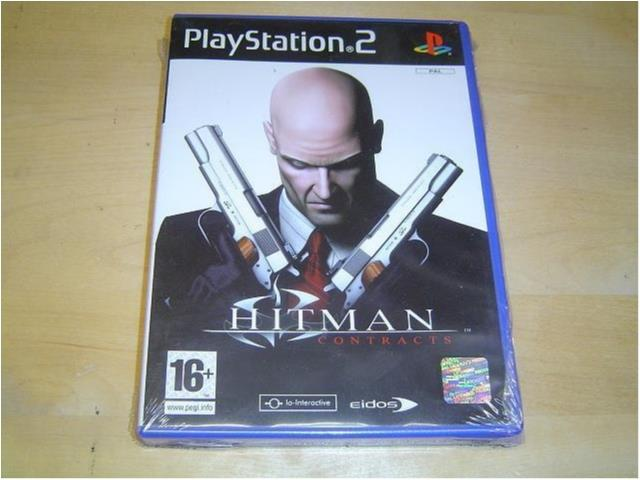 Hitman 3 Contracts Sony Playstation 2 PS2 PAL *NYTT*