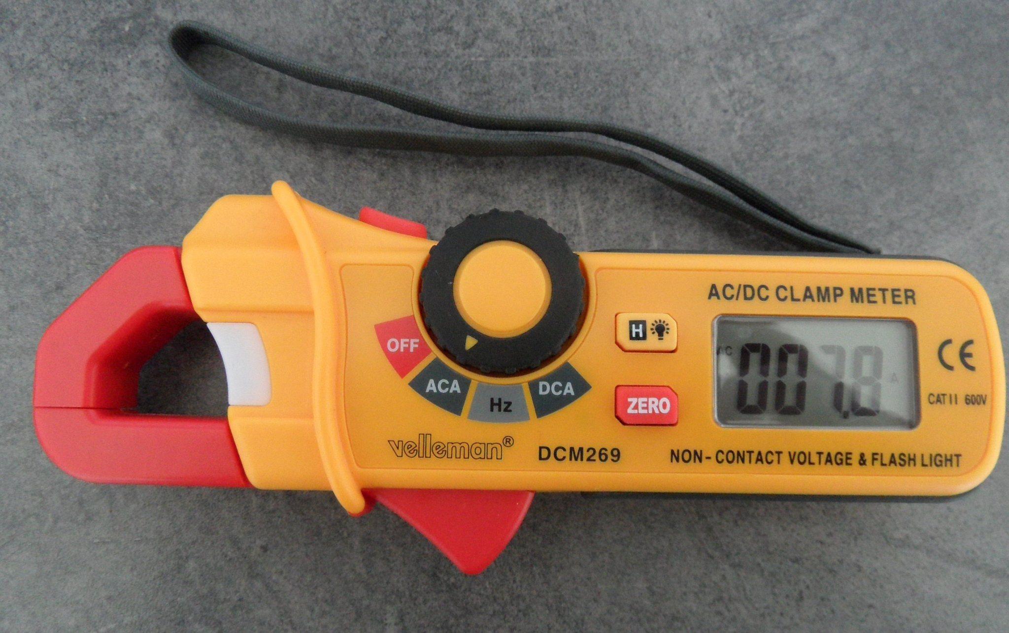 Tångamperemeter inkl AC detektor 100-600 V (341797325) ᐈ Köp på Tradera 48b487d6c171f
