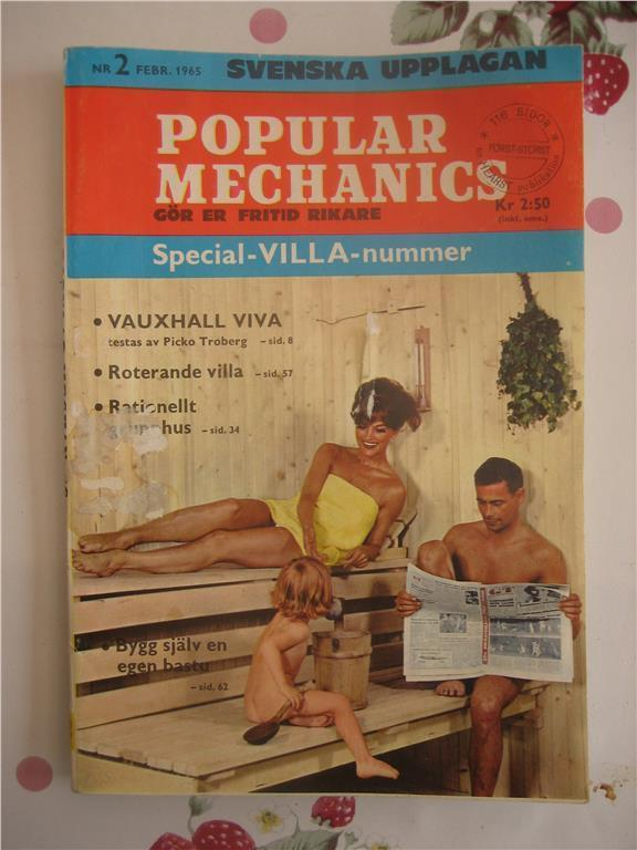 Popular Mechanics (Gör er fritid rikare)     Nr:2-1965