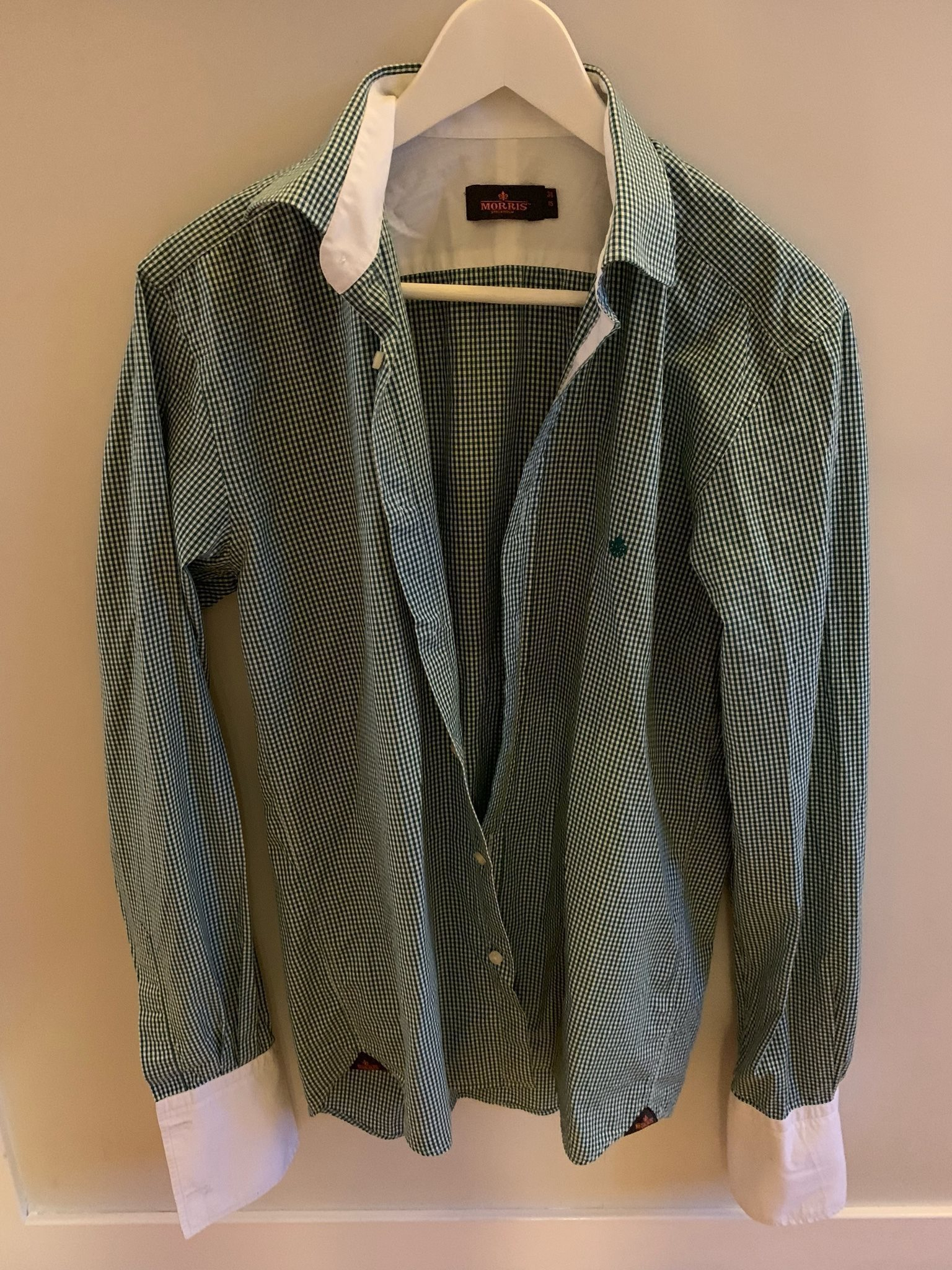 Morris skjorta i storlek 38 (337143925) ᐈ Köp på Tradera ad873c0fc6990