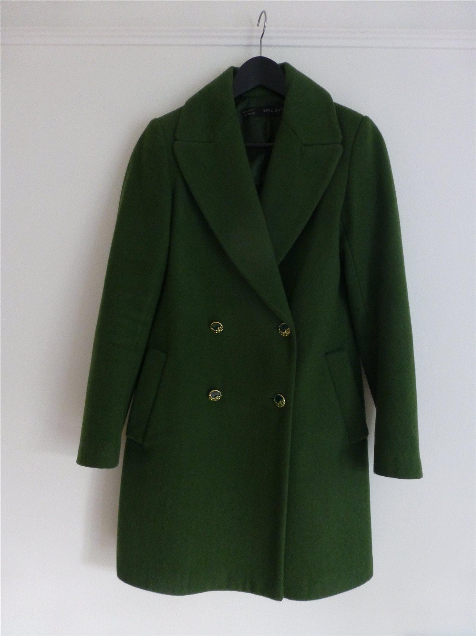 Grön kappa zara 56cc9c366a04e
