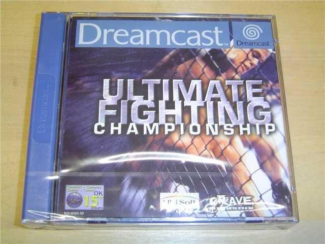 ULTIMATE FIGHTING CHAMPIONSHIP SEGA DREAMCAST PAL *NYTT*