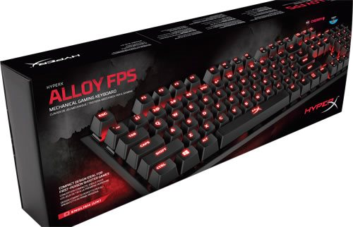 HyperX Alloy FPS Mech Gaming Ke.. (340554999) ᐈ digitalwarehouse på ... a5fe9ee960da6