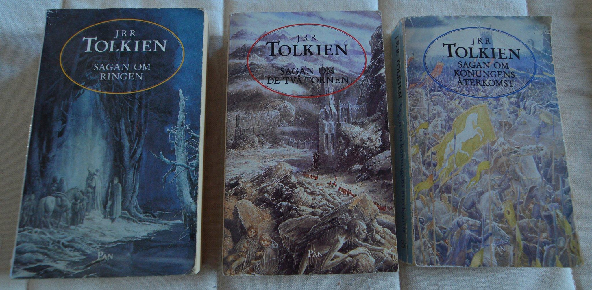 Jrr Tolkien Sagan Om Ringen Trilogin 3 Bocker 349433240