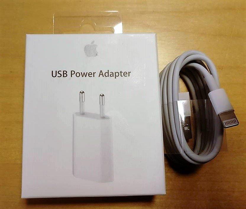 Original iPhone laddare med kabel