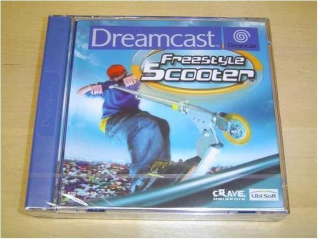 FREESTYLE SCOOTER SEGA DREAMCAST PAL *NYTT*