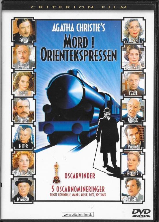mord på orientekspressen bok