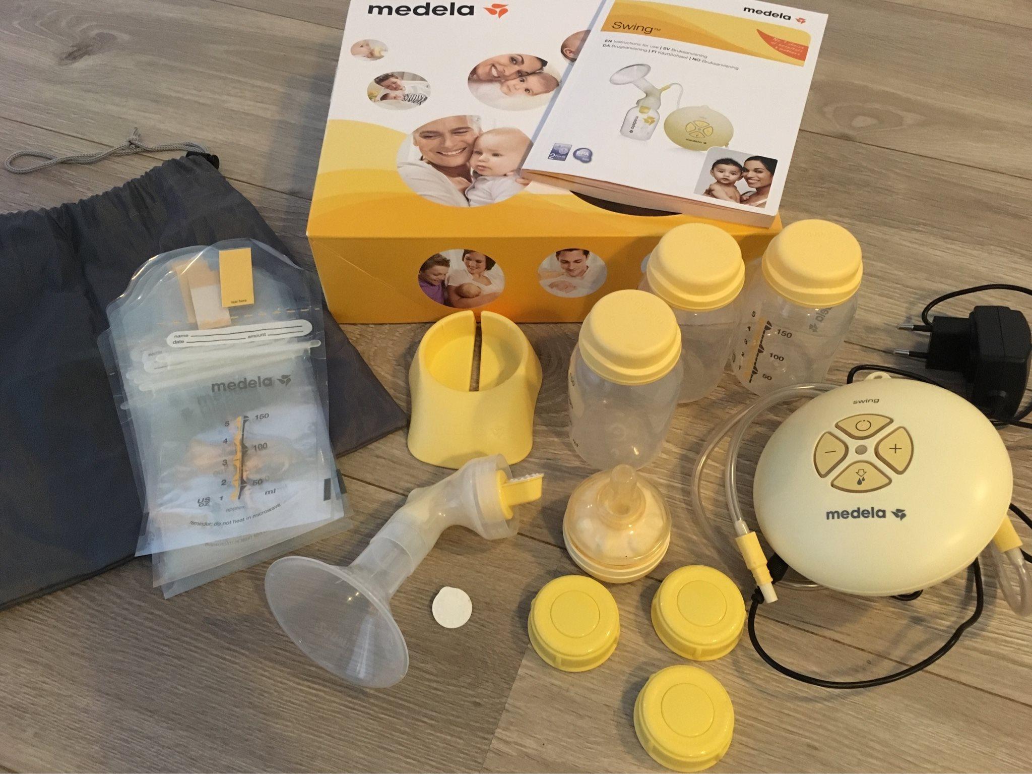 Bröstpump Medela swing/ Multi-Mam kompresser