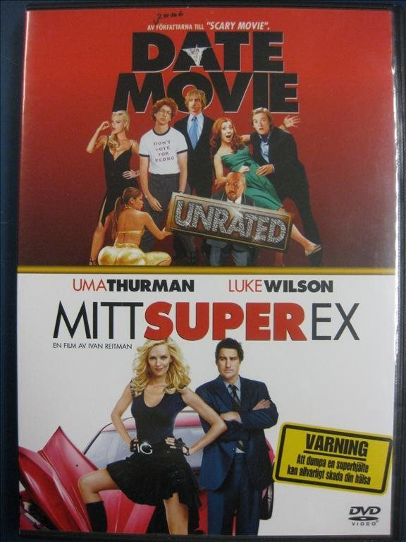 DATE MOVIE + MITT SUPER EX  - 2 DISC - 2 FILMER (KOMEDIER)