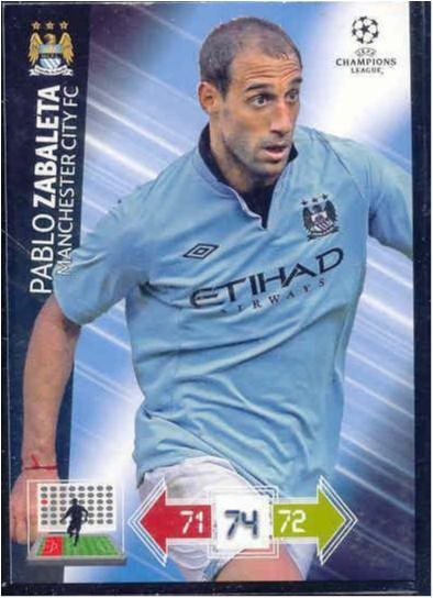 PABLO ZABALETA - MANCHESTER CITY -CHAMPIONS LEAGUE 2012-2013