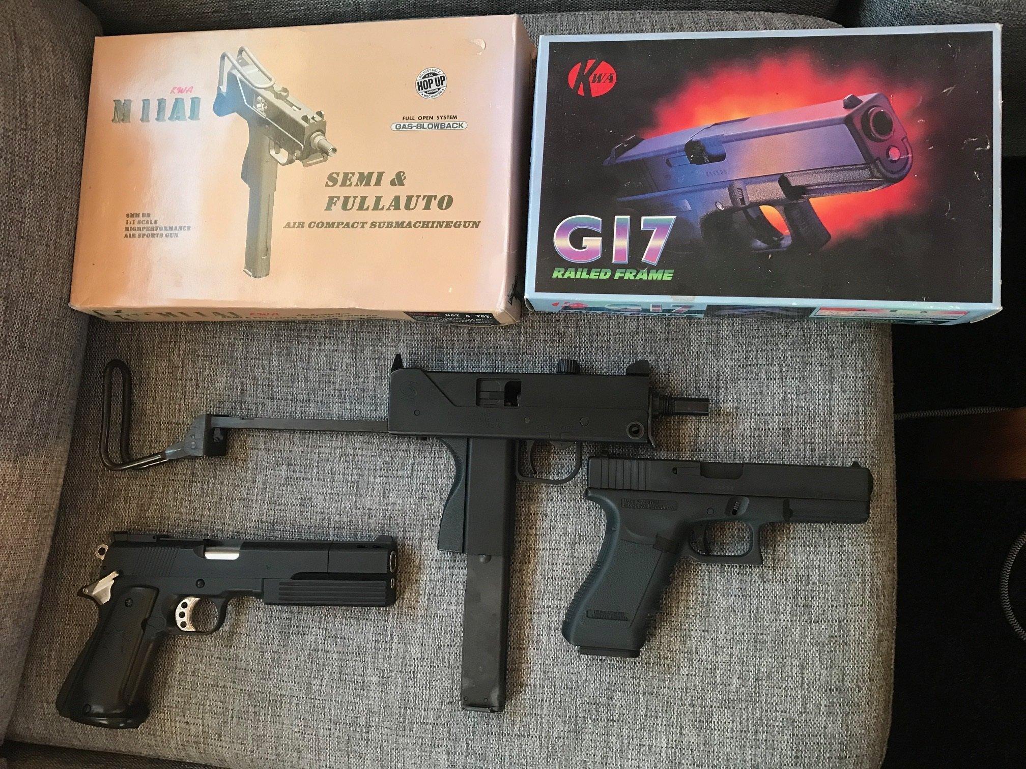 Soft airgun uzi Glock 17 mm (359859555) ᐈ Köp på Tradera