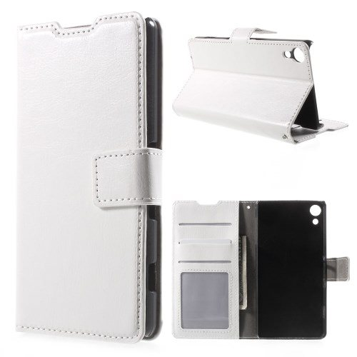 Plånboksfodral till Sony Xperia Z5 - vit (247504600) ᐈ mobilcentrum ... 2a8a804fede91