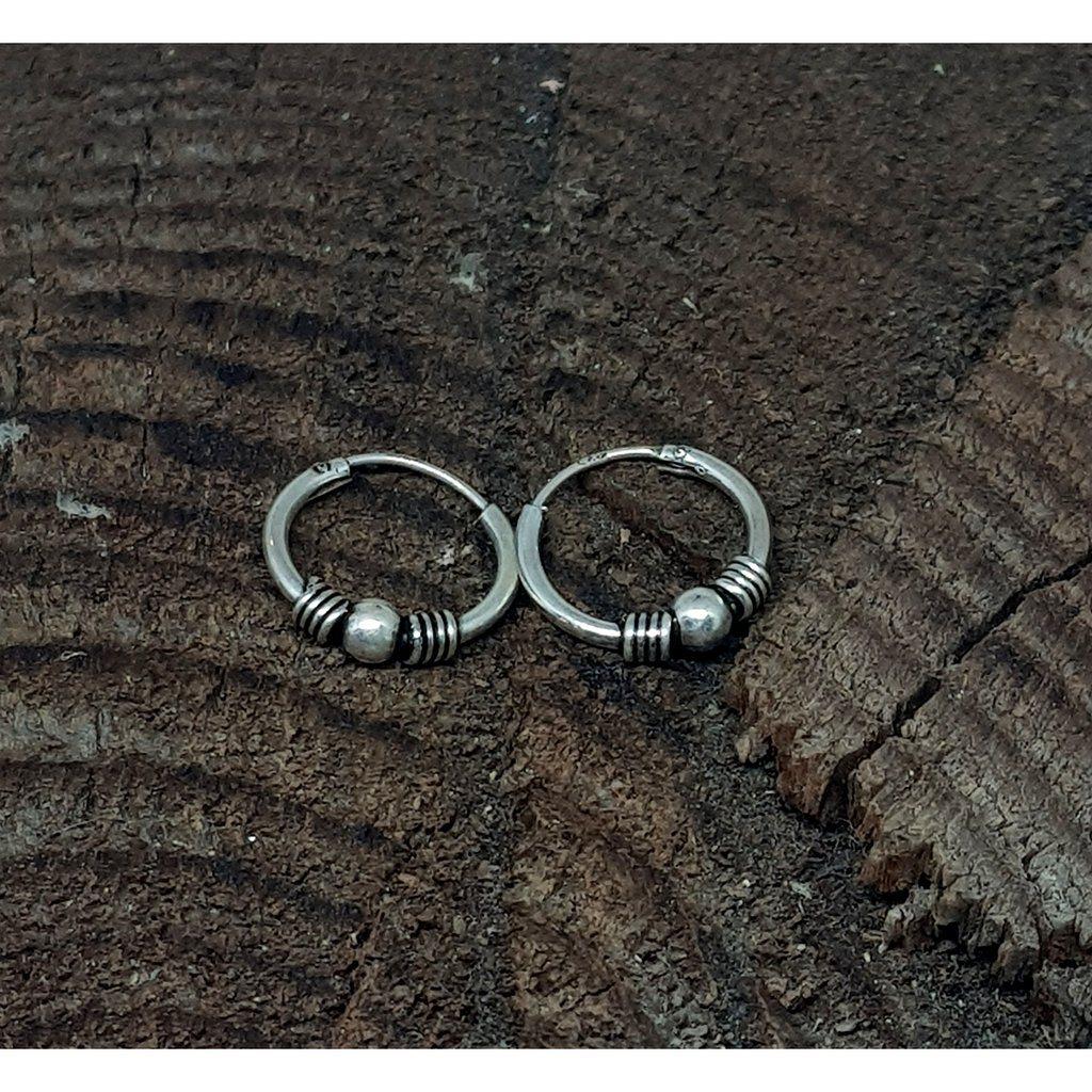 creol örhängen silver