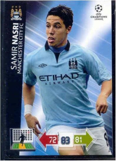 SAMIR NASRI - MANCHESTER CITY -CHAMPIONS LEAGUE 2012-2013