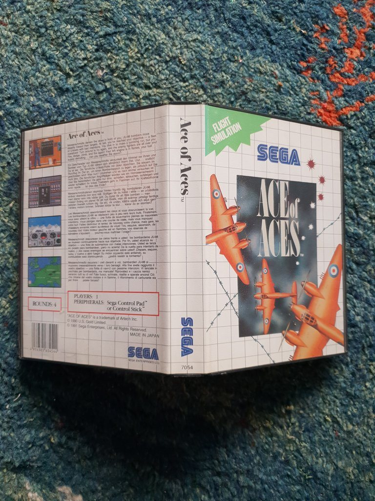 Ace of Aces - box - SEGA Master System