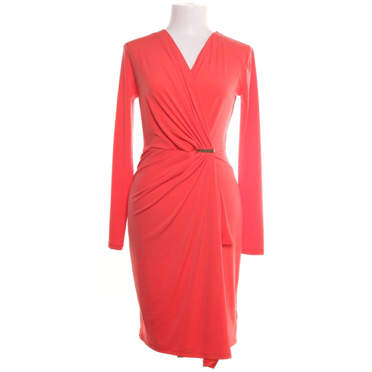 michael kors röd klänning