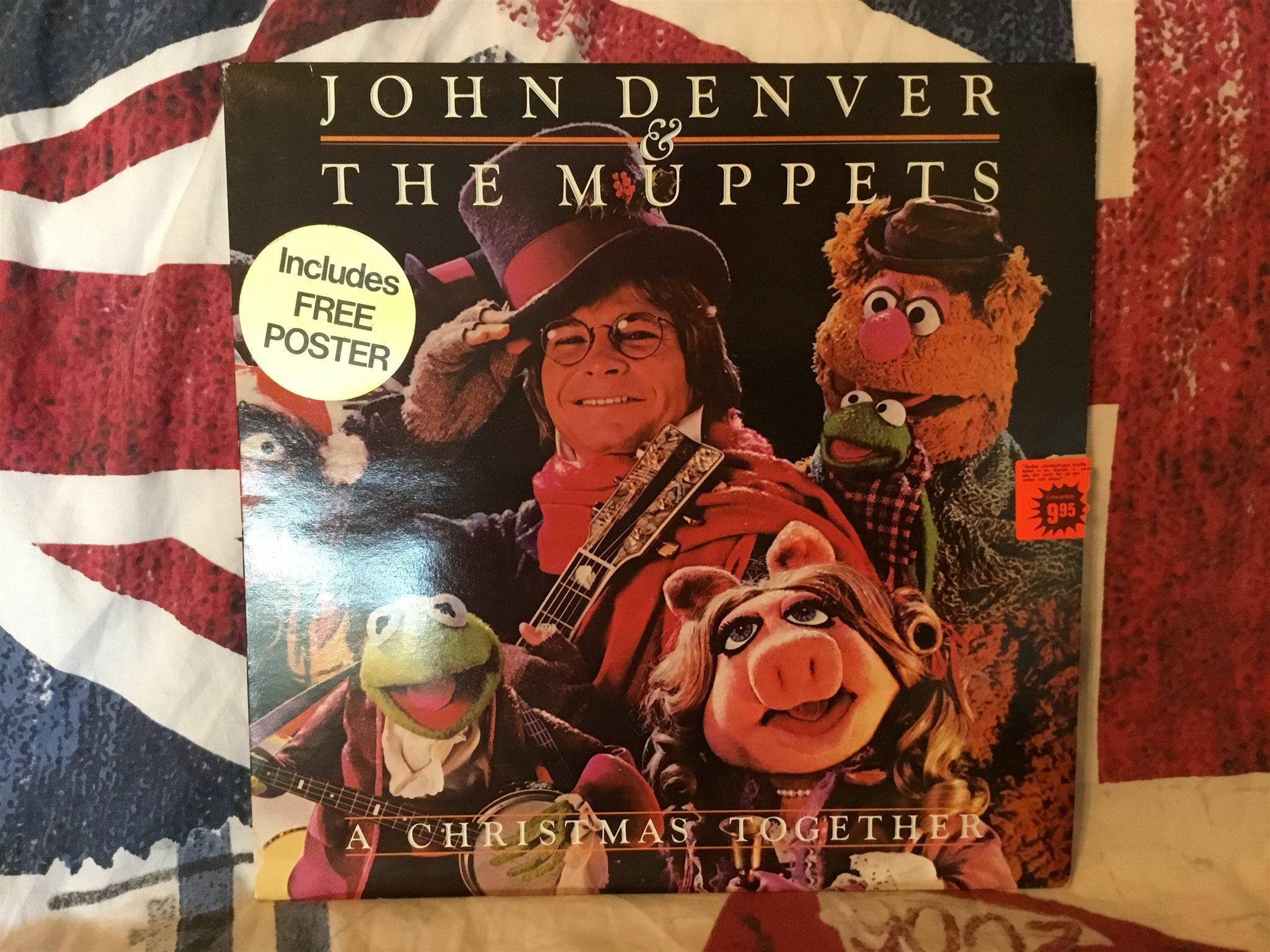 John Denver & the Muppets a Christmas together (323214642) ᐈ Köp på ...