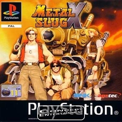 METAL SLUG X (komplett) till Sony Playstation, PS1