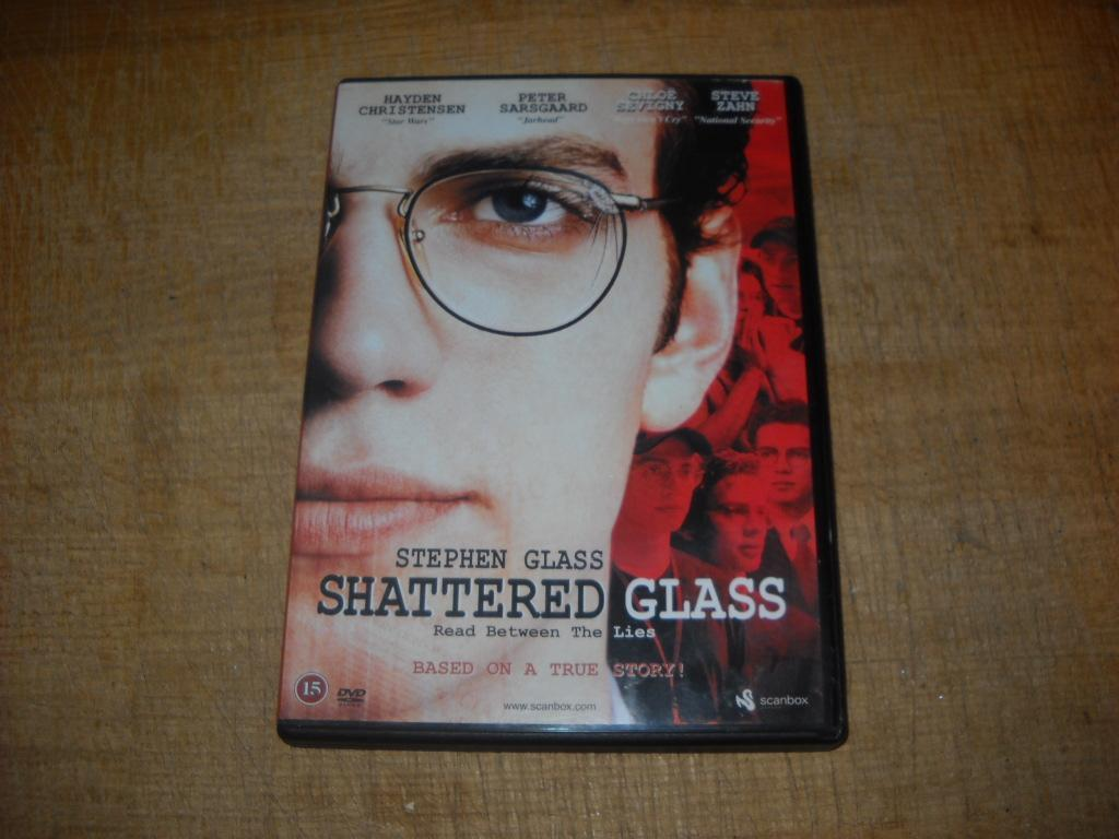 "Shattered Glass ""Hayden Christensen,Peter Sarsgaard"""