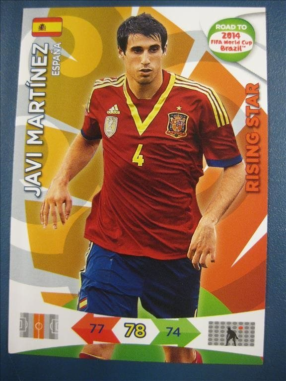 RISING STAR -   JAVI MARTINEZ - SPANIEN - ROAD TO 2014 FIFA WORLD CUP BRAZIL