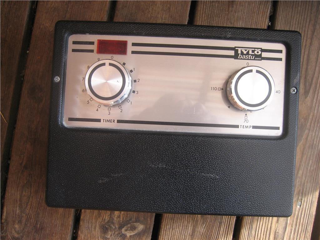 Tylö Bastuaggregat med termostat - Typ 8E på Tradera.com - Bastu |