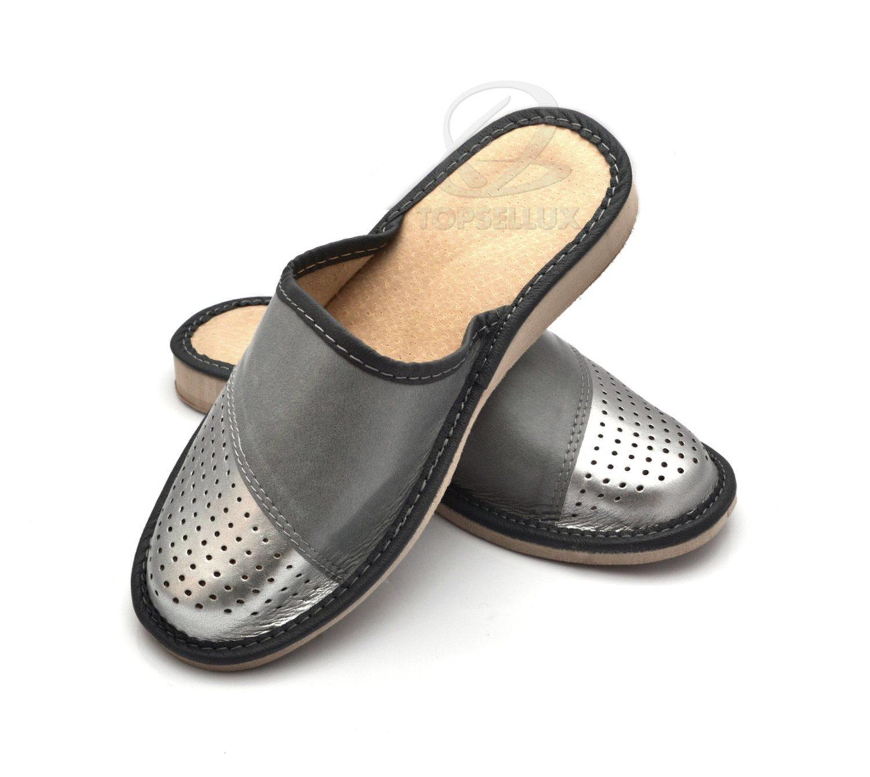 Nya SILVER damskor sandaler tofflor kilklack dam skor toffel inneskor strl  38 3fbaa87bd1350