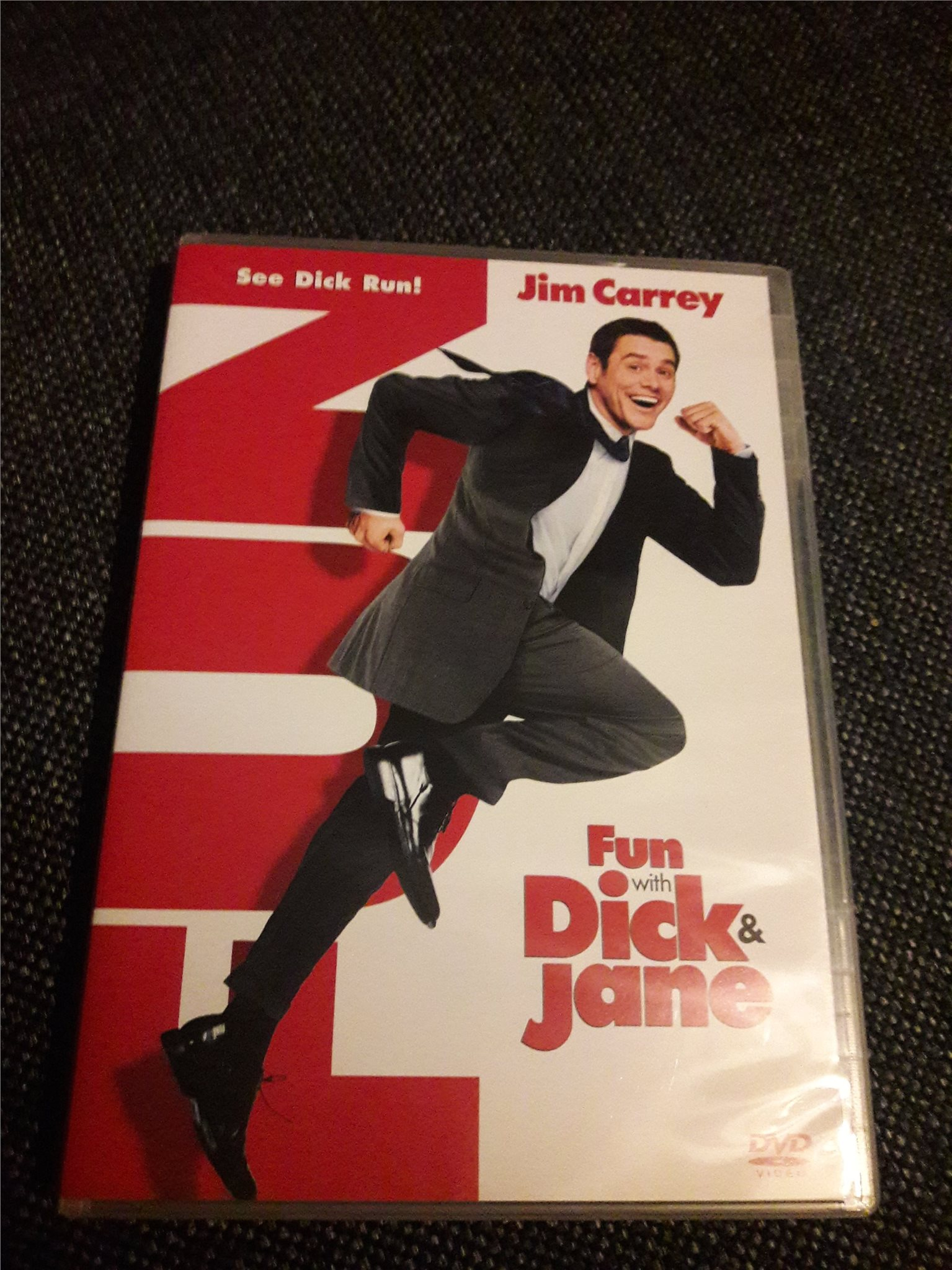 Dvd fun with Dick & Jane (Jim Carrey)